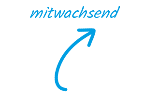 caption mitwachsend